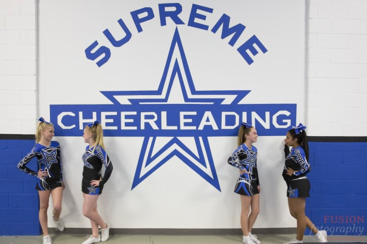 Supreme Cheerleading Inc, Cheerleader, Team Portraits, Photography